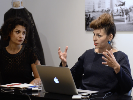 18.11.17 : Versus Art Project Artist Talk / Ghazel & Halida Boughriet
