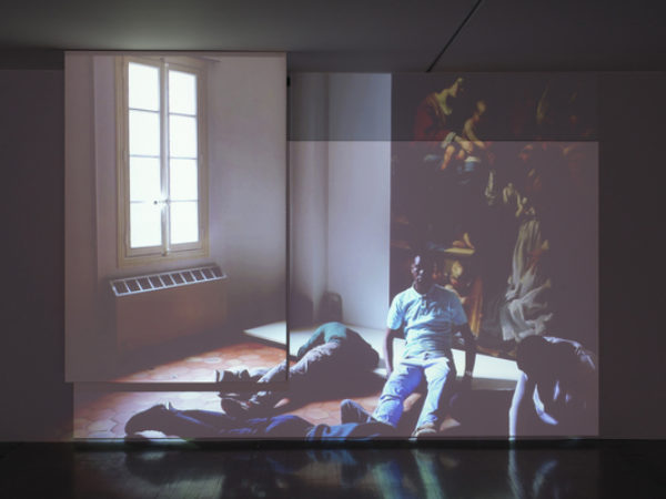 Installation view : Corps de Masse at the MAC/VAL (contemporary art museum - Vitry-sur-Seine, France)