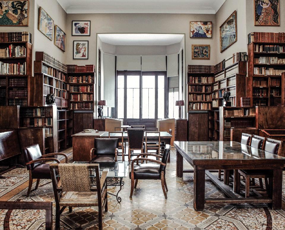 La bibliothèque, 2011 (Algiers)
